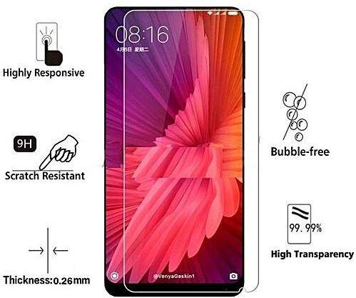 Tempered Glass for Xiaomi Mi Mix 2S - 2.5D Curve Screen Protector [Transparent]