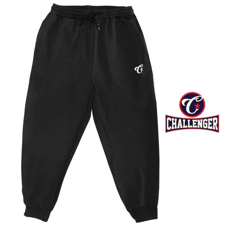 CHALLENGER BIG SIZE Microfiber Spandex Sports Pant with Grip CH6044 (Black)
