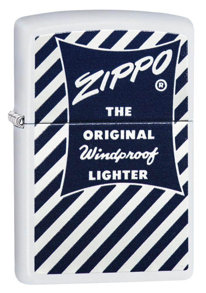 Zippo 29413 Zippo Blue & White 1958-59