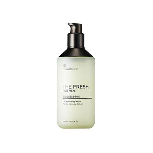 THE FACE SHOP The Fresh For Men Fluid 170ml - Oil Absorbing