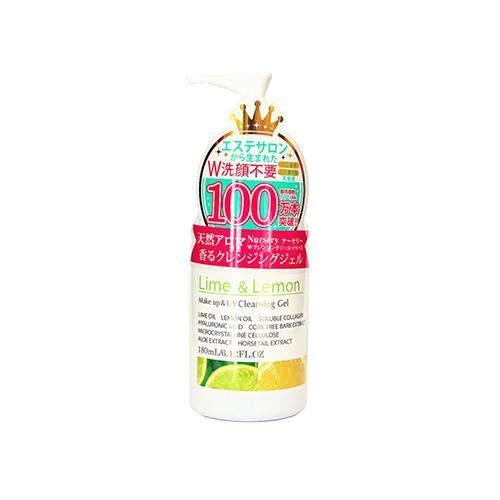 NURSERY Makeup Remover & UV Cleansing Gel 180ml - Lime & Lemon
