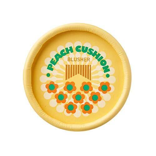 THE FACE SHOP Lovely Me Ex Pastel Cushion Blusher 5g - 05 Peach Cushion