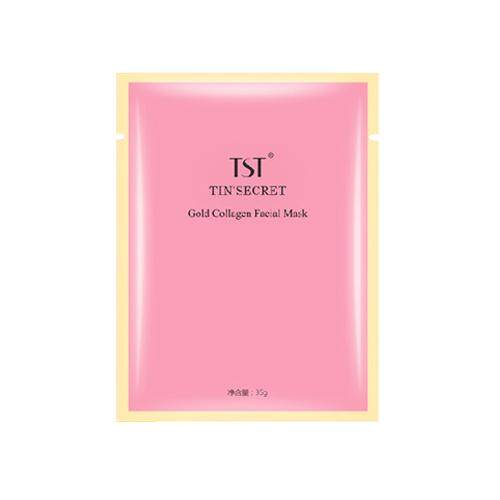 TST Gold Collagen Facial Mask 5pcs