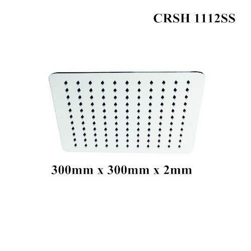 CORONA Stainless Steel Shower Head (Rectangle)