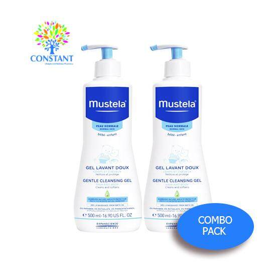 Mustela Gentle Cleansing Gel 500ml x 2(COMBO PACK)