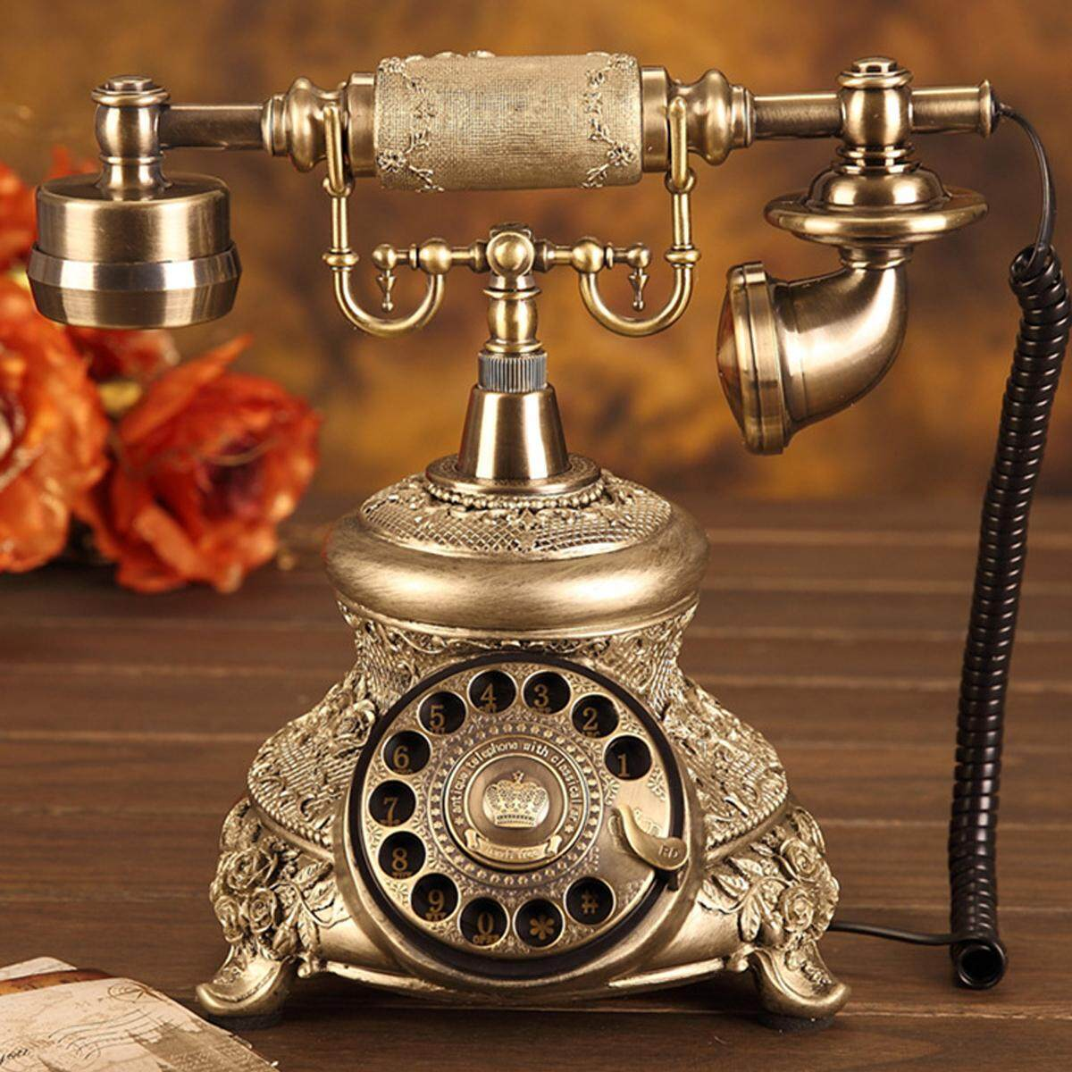 Old fashioned wall mounted telephones 50