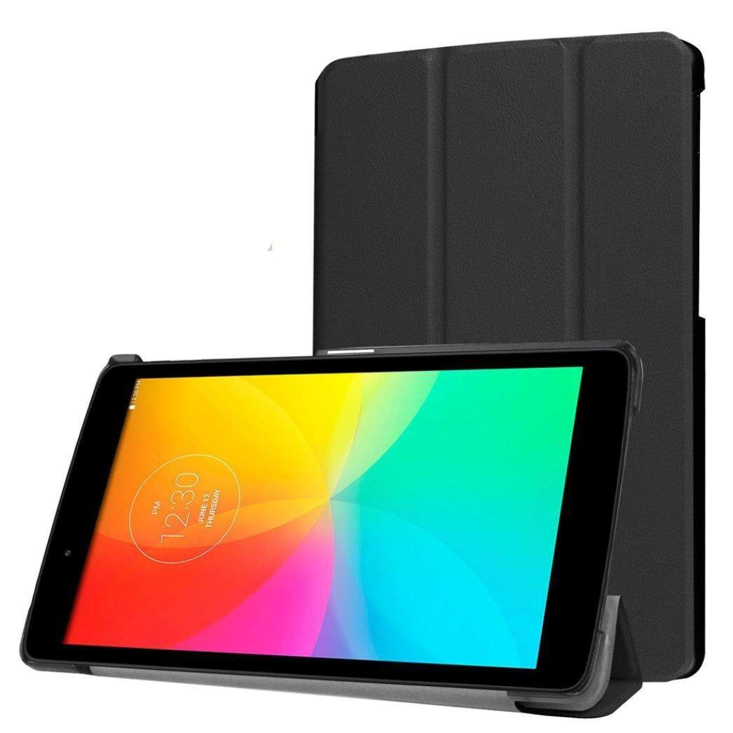 For LG G Pad X 8.0 / G Pad III 8.0 Case, CLOUDSEA New Premium Tri-Fold Ultra Slim Stand Leather Back Case cover for for LG G Pad X 8.0 (T-Mobile V521WG) / G Pad III 8.0 V525 8-Inch Tablet (Black) - intl