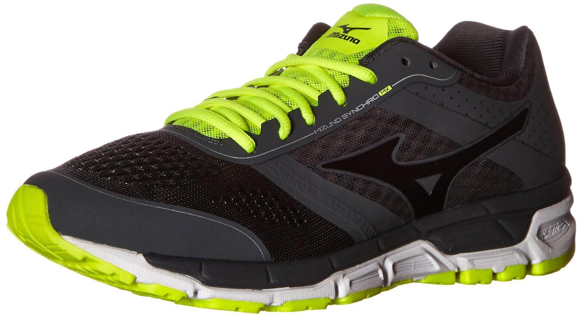 Mizuno Men's Synchro MX Running Shoe, Dark Shadow/Black, 11.5 D US - intl