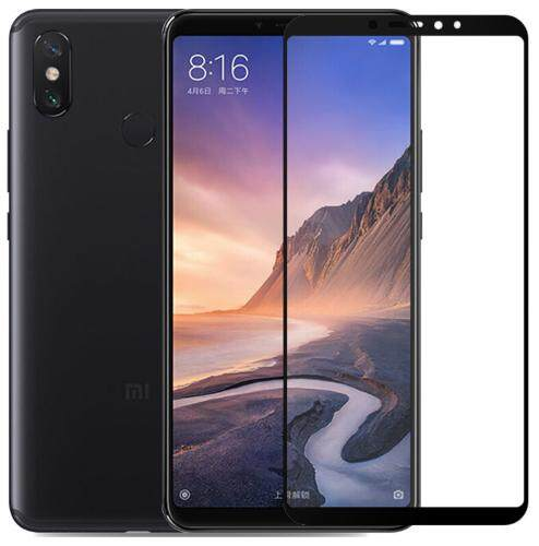 Tempered Glass for Xiaomi Mi Max 3  [Full Cover Black] Screen Protector