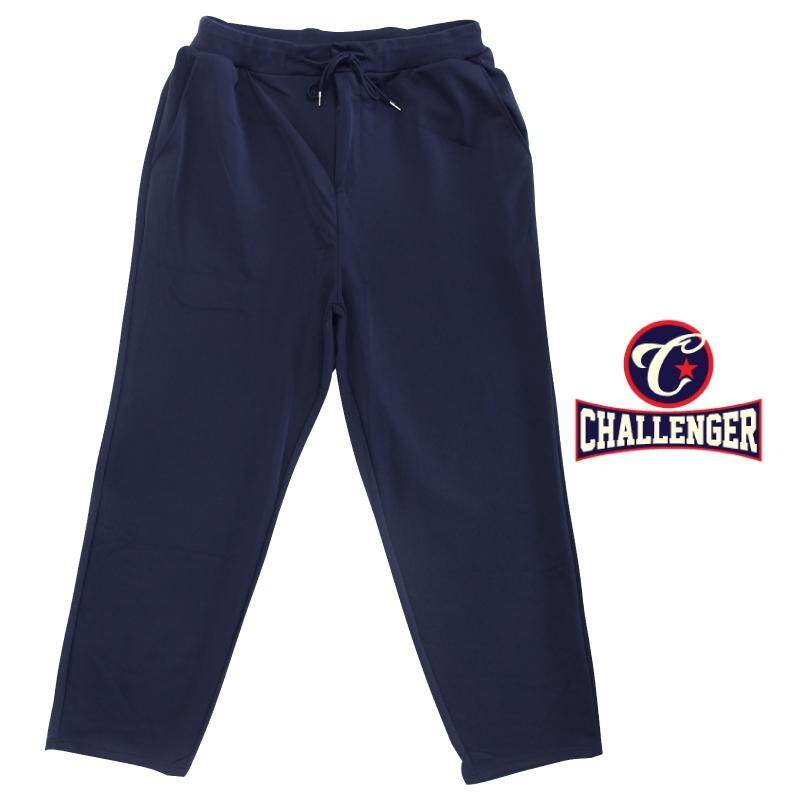 CHALLENGER BIG SIZE Microfiber Spandex Long Pants with Zipper Fly CH6045 (Navy)