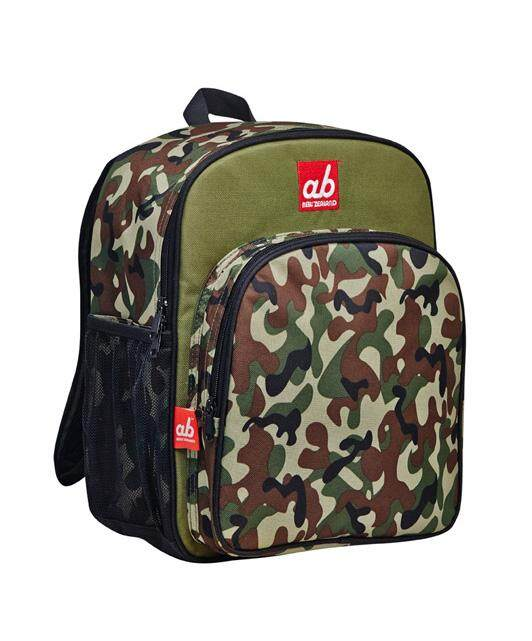 ab New Zealand Woodland Half Camo Toddler Backpack