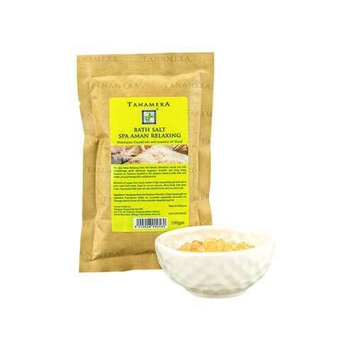 TANAMERA Spa Bath Salt 100g - Aman Relaxing