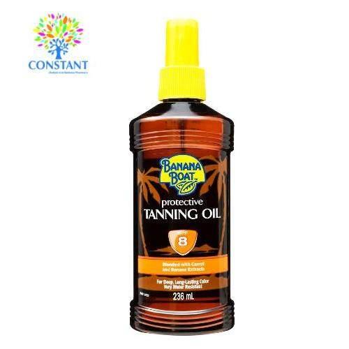 Banana Boat Tanning Oil SPF 8 236ml