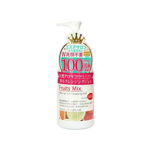 NURSERY Makeup Remover & UV Cleansing Gel 180ml - Fruits Mix