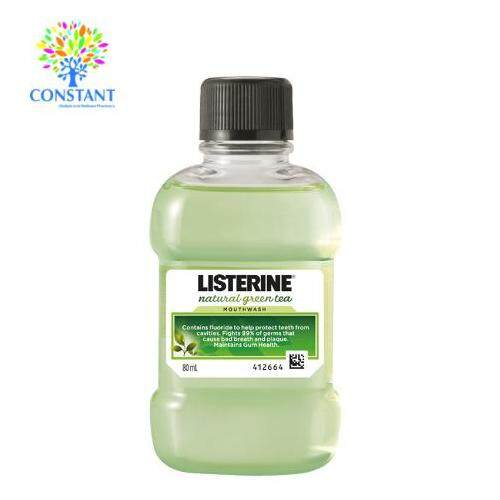 [BDAY SALE] Listerine Green Tea 80ml
