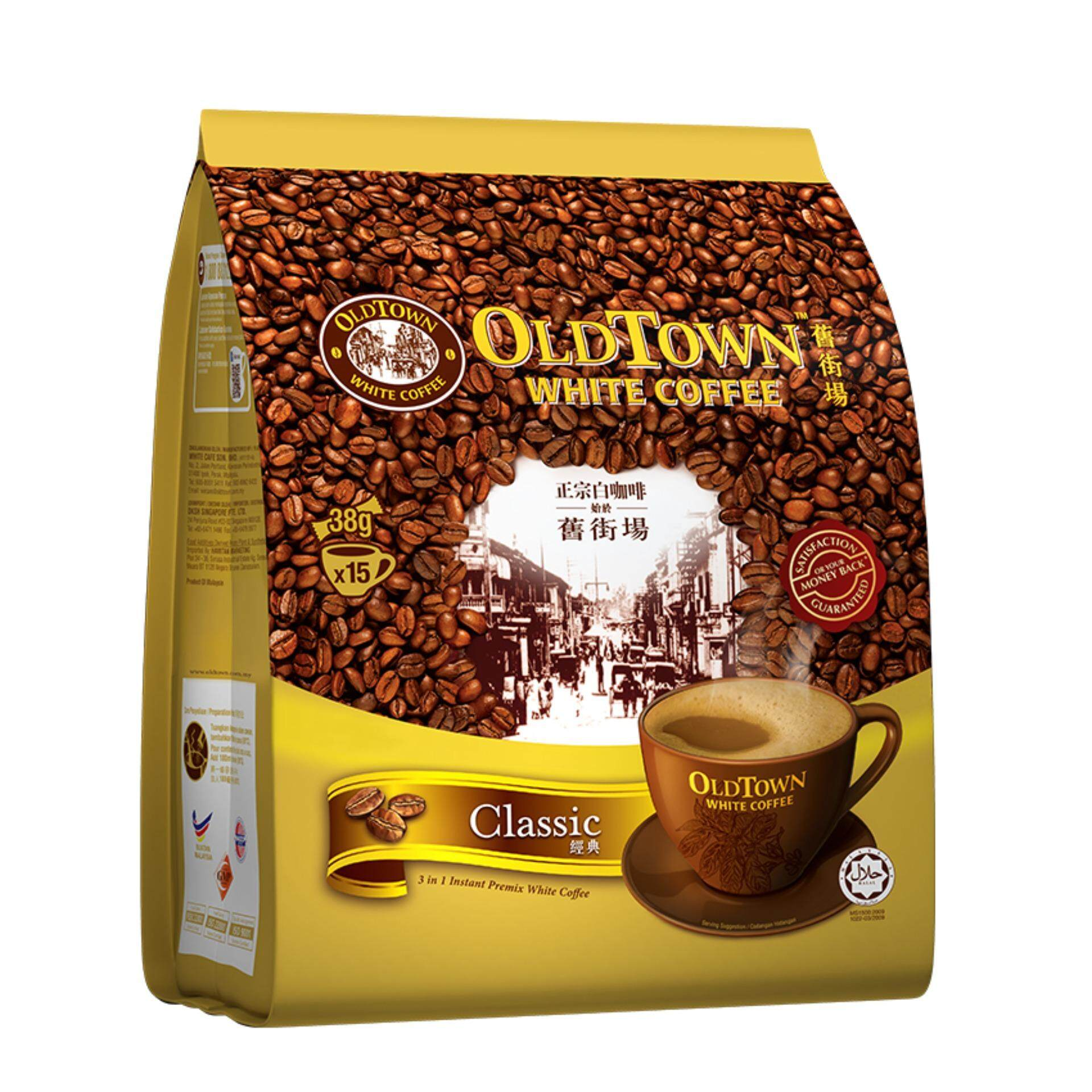 OLDTOWN White Coffee 3-in-1 Classic Instant Premix White Coffee (15'S X 1 Pack)