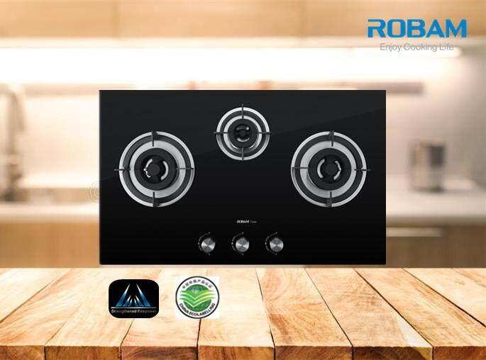 ROBAM B396 3 Burners Glass Hob