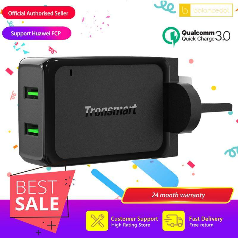 Tronsmart W2TF 36W Quick Charge 3.0 Dual USB Wall Charger