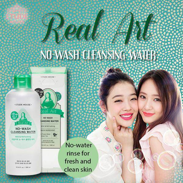 Etude House Real Art No - Wash Cleansing Water