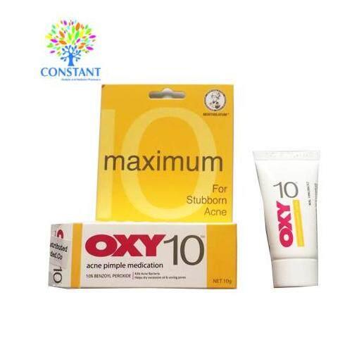 Oxy10 Acne Pimple Medication 10g