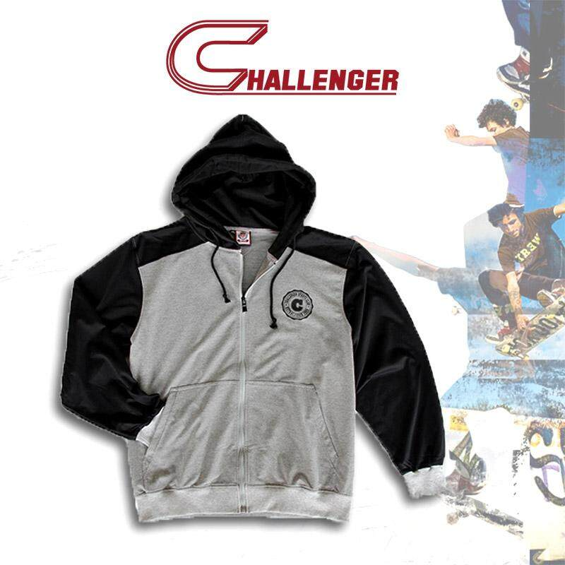 CHALLENGER BIG SIZE Jacket with Hood CH7003 (Melange)