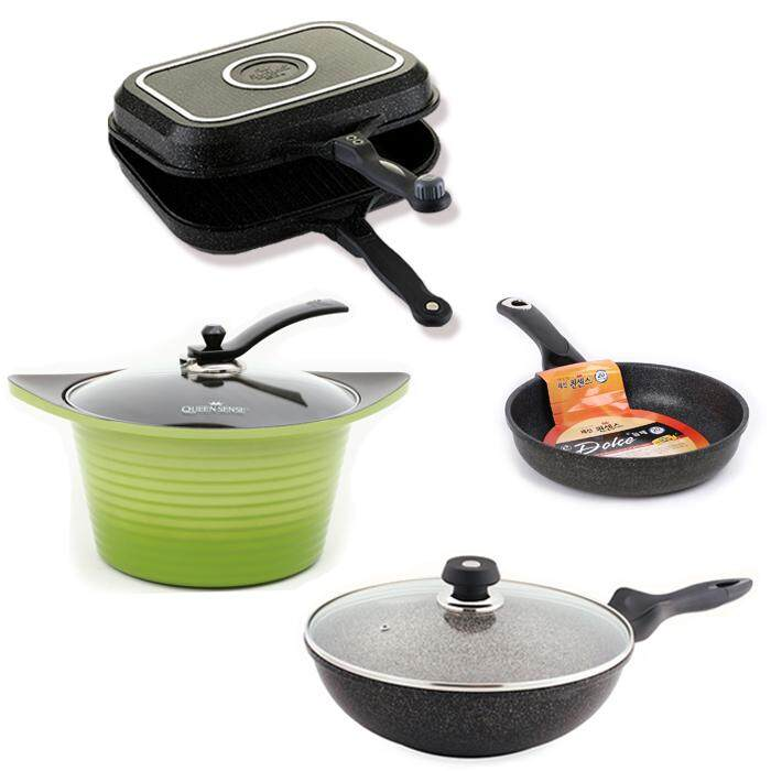 Queen Sense Cookware Set (Black)