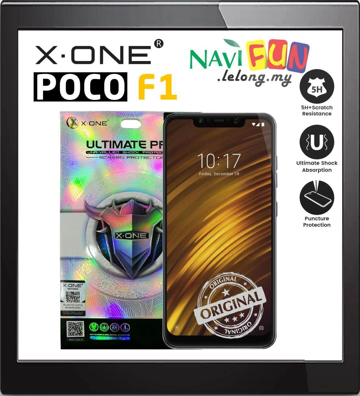 X-One® Ultimate Pro Screen Protector Xiaomi Pocophone F1
