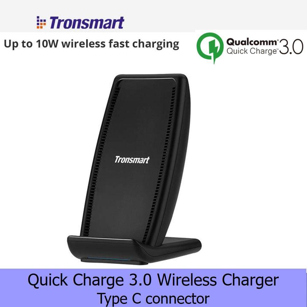 Tronsmart WC01 AirAmp 10W Fast Charging Wireless Charger Compatible with iPhone X