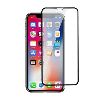 Tempered Glass for Apple iPhone XS- 2.5D Curve Screen Protector [Full Cover Black]