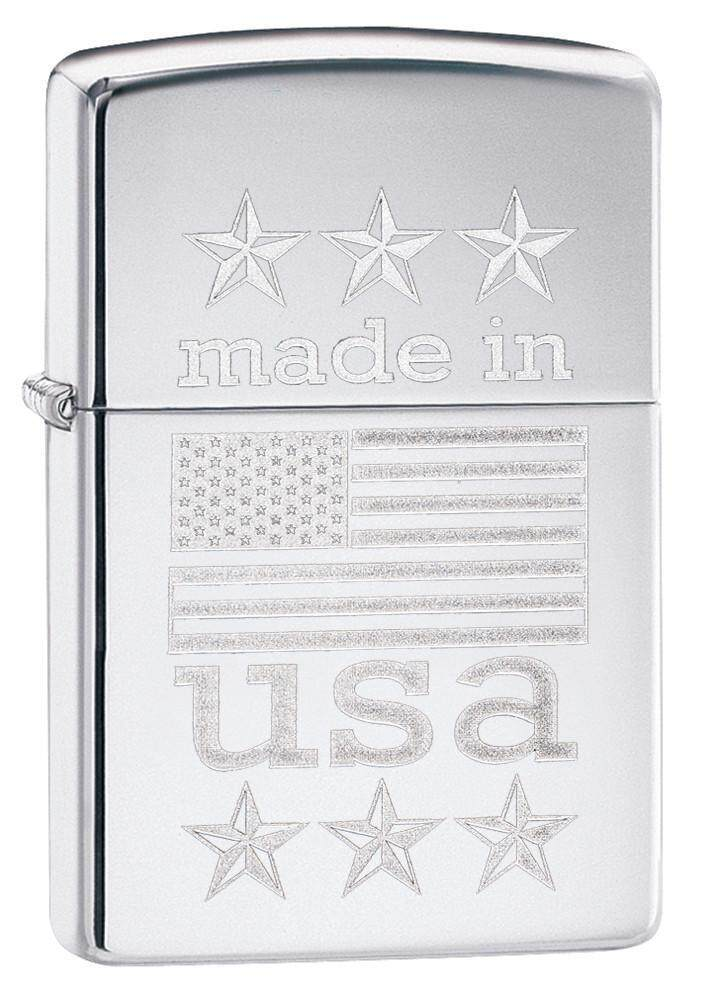 Zippo 29430 Made in USA with Flag