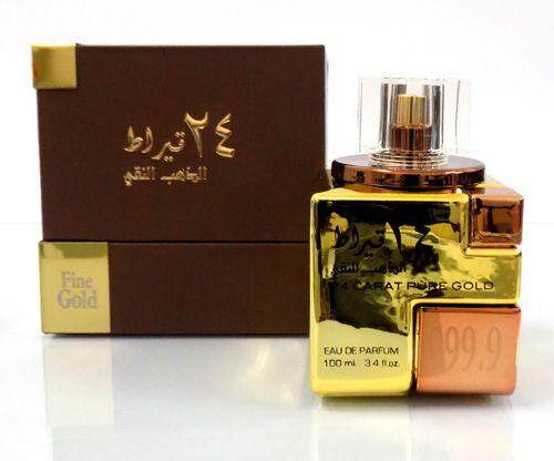 24 carat pure gold Oud perfume 100 ML form men and women