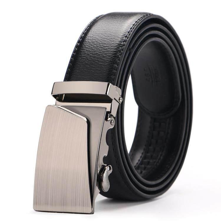 DOULILU Men Leather Automatic Buckle Waist Belt Tali Pinggang 207 -MI2071