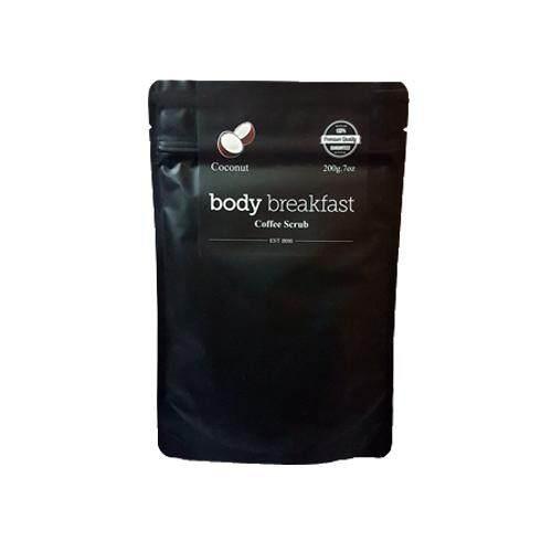 BODY BREAKFAST Coffee Scrub 200g - Coconut