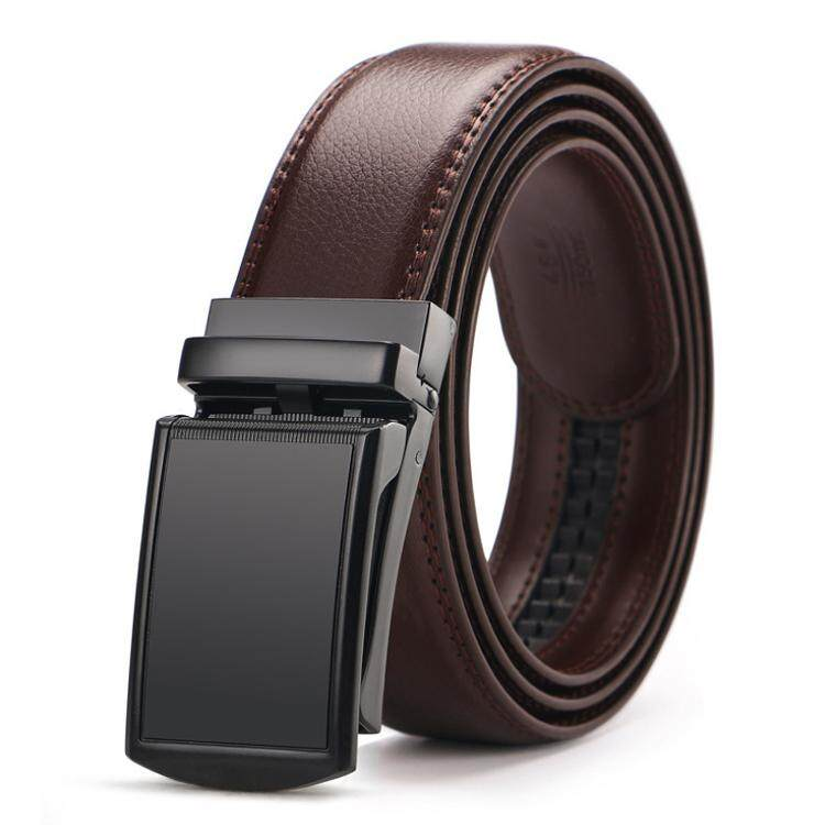 DOULILU Men Leather Automatic Buckle Waist Belt Tali Pinggang 222 -MI2222