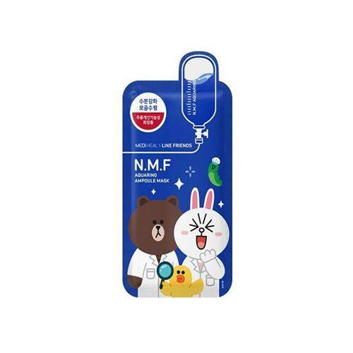 MEDIHEAL Line Friends Ampoule Mask 10pcs - Blue