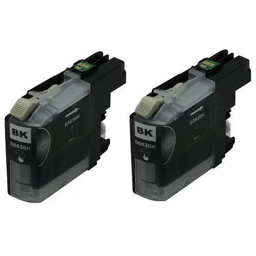 LC563 Compatible LC-563 LC 563 Twin Pack Ink Cartridge (Black)