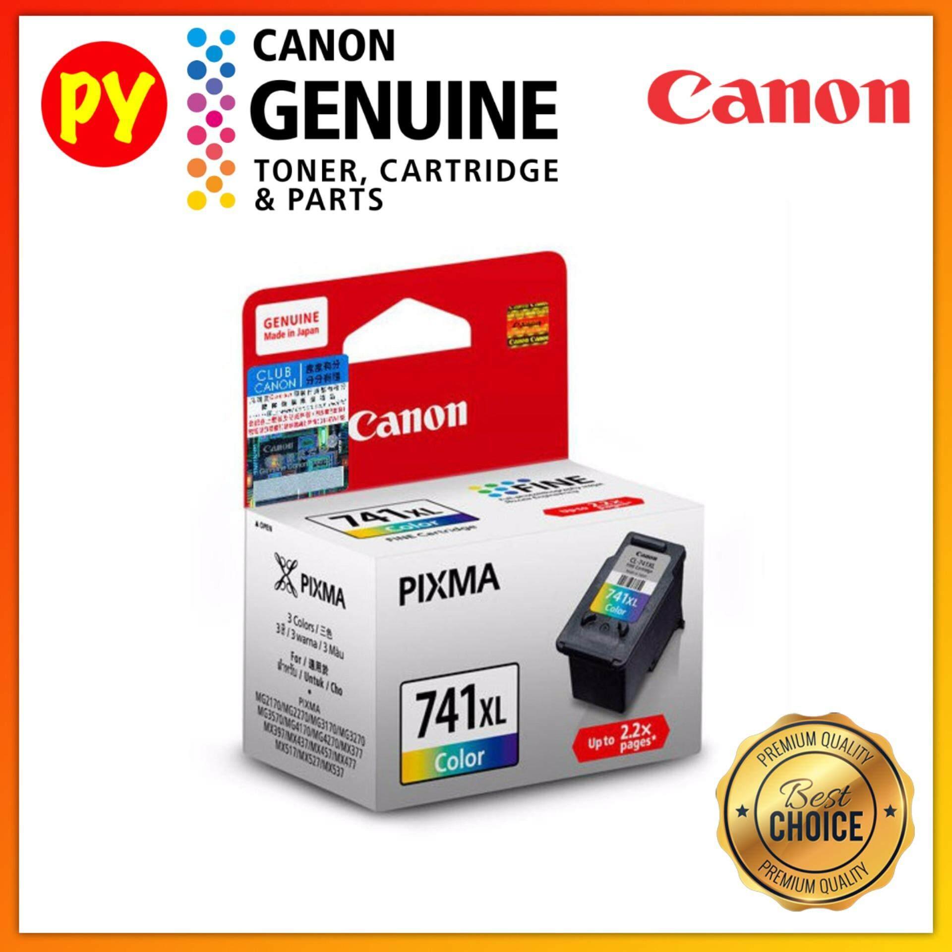 Canon CL-741 XL Color Original Ink Cartridge - For Canon Pixma MG2170/2270/3170/3570/4170/4270, MX377/397/437/457/477/517/527/537 printers