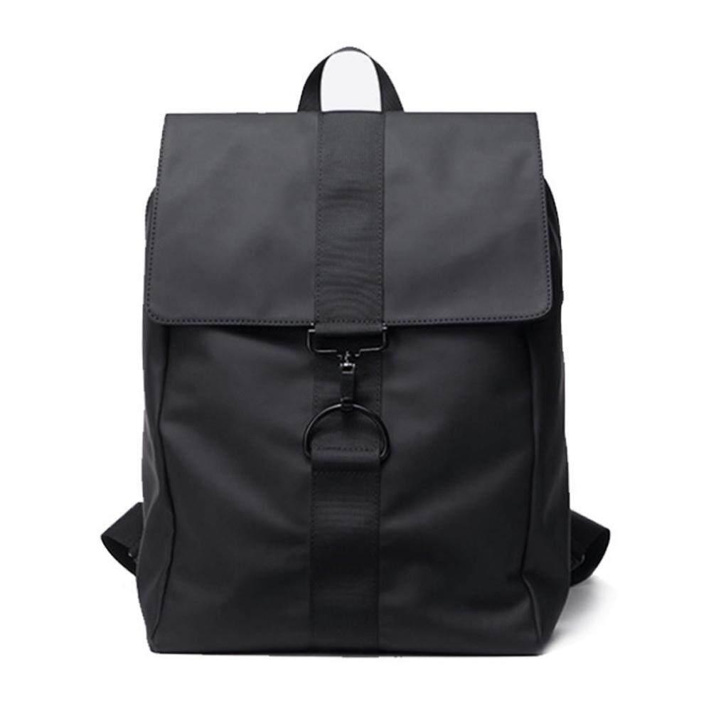 Men Casual Canvas Laptop Bag Anti Theft Waterproof Travel Black Backpack 343 MI3431