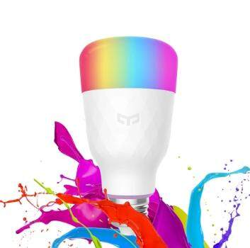 [CNY 2020] Original Xiaomi YEELIGHT Smart Light Bulb Wireless app WiFi Control with Multi Colour YLDP06YL 10W RGB E27
