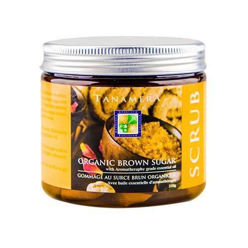 TANAMERA Scrub Jar - Organic Brown Sugar