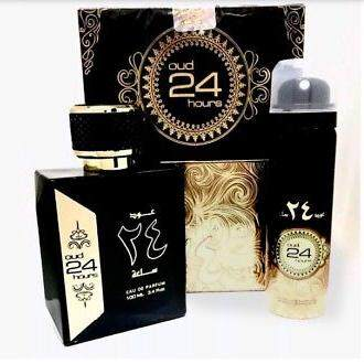 Oud 24 Hours perfume 100ML + Deodorant For Men and Women