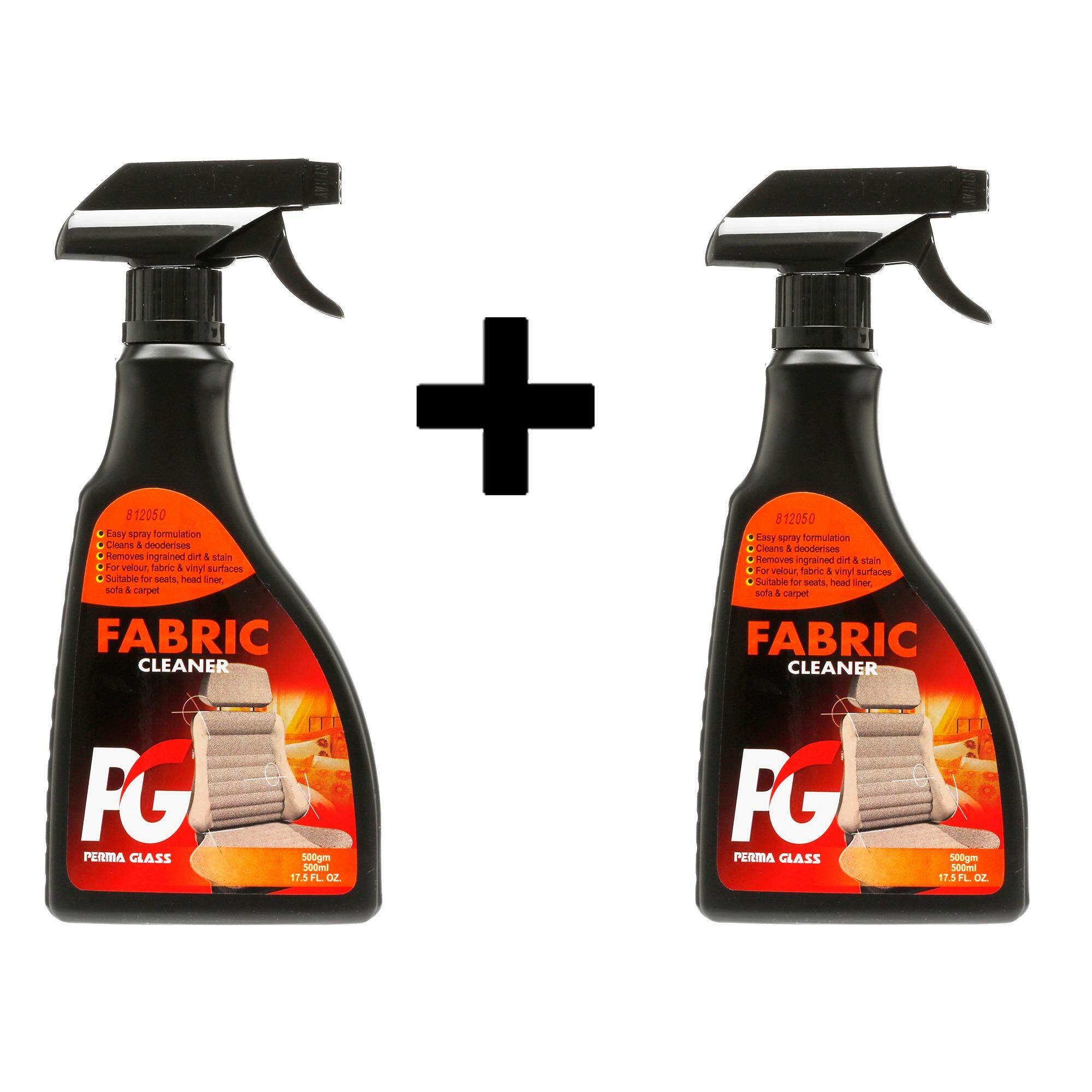 PG FABRIC CLEANER X 2 SETS (500ML) - CAR CARE INTERIOR