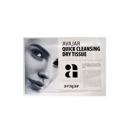 AVAJAR Quick Cleansing Dry Tissue 15pcs