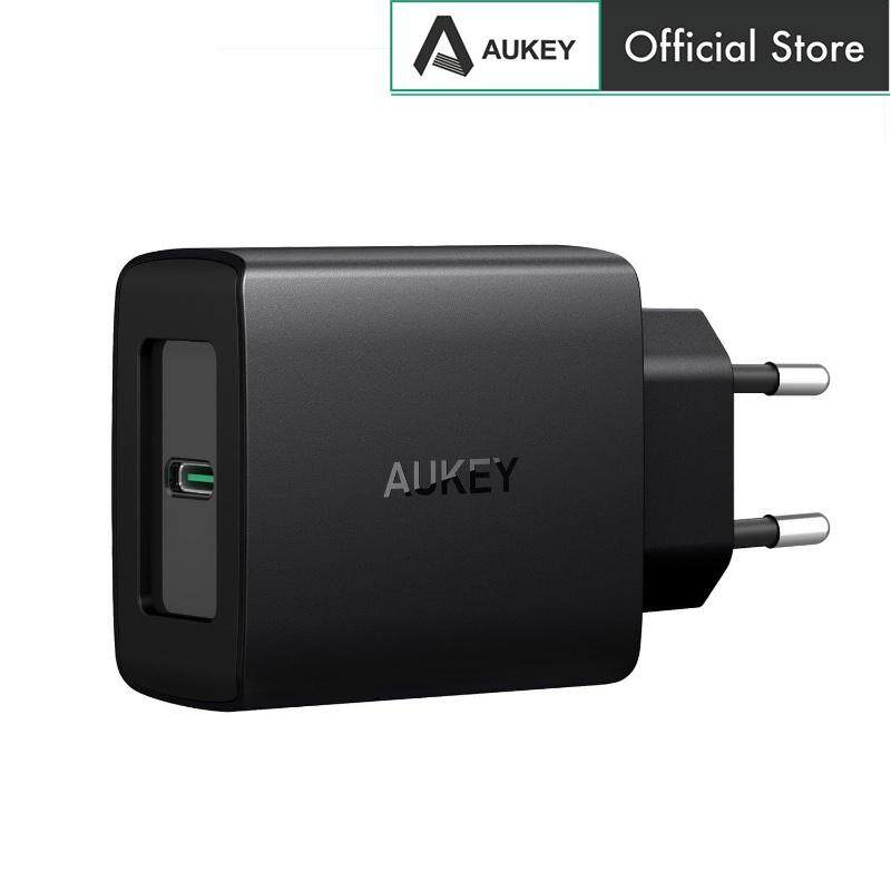 Aukey PA-Y8 27W Power Delivery 3.0 Travel Wall Charger - EU Plug