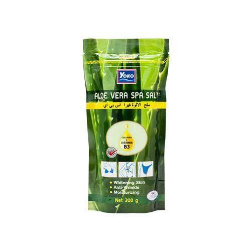 YOKO Spa Milk Salt 300g - Aloe Vera