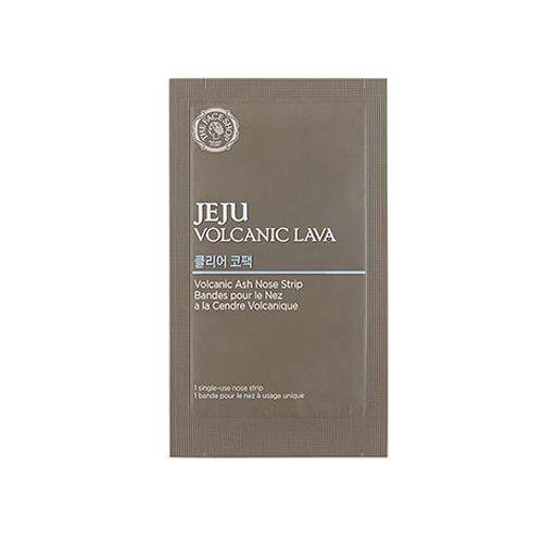THE FACE SHOP Jeju Volcanic Lava Nose Strips 7pcs - Volcanic Ash