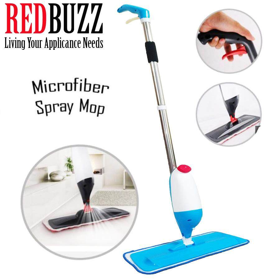 REDBUZZ New Technology Ultra Clean Flexible Easy Spray Mop + Microfiber Pad