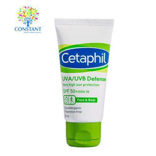 Cetaphil UVA UVB Defense SPF 50 50ml