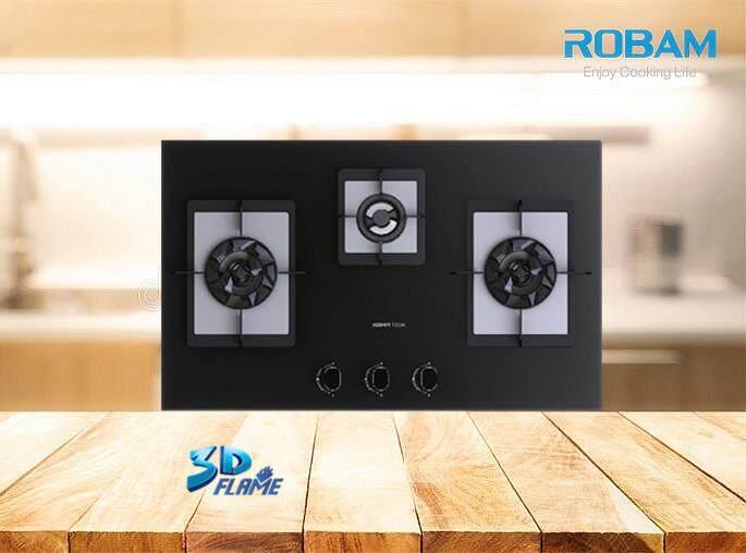 ROBAM B394 3 Burners Glass Hob