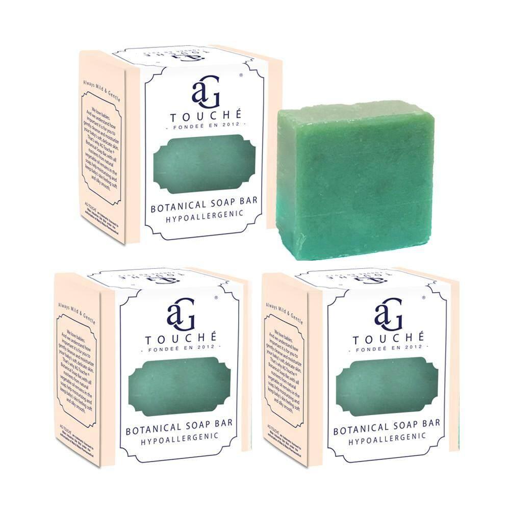 AG Touché Botanical Baby Soap Bar Oriental Tea (80g) [Bundle of 3]